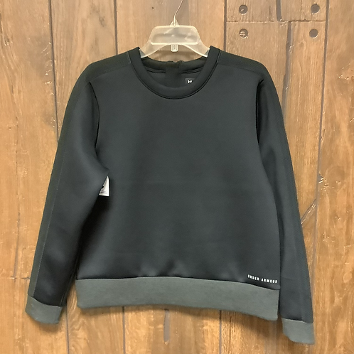Large under armor sweatshirt black