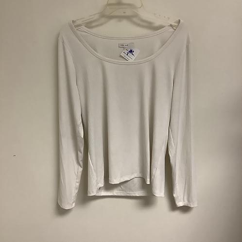 White long sleeve size XXL