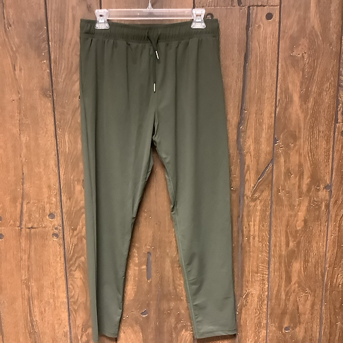 Medium Zaya jogger pants green