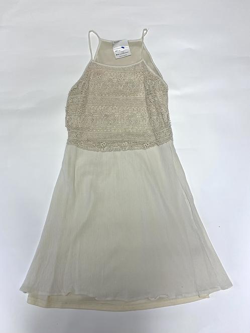 Size S Cream Colored Sun Dress