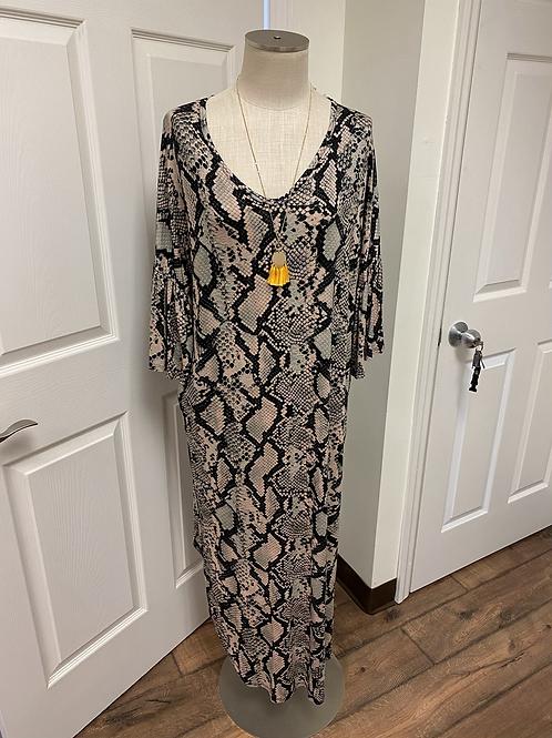 Emerald Medium Snakeskin Dress