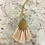 Thumbnail: Gold and Pink Pendant Necklace