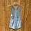 Thumbnail: Blue striped adidas tank size S