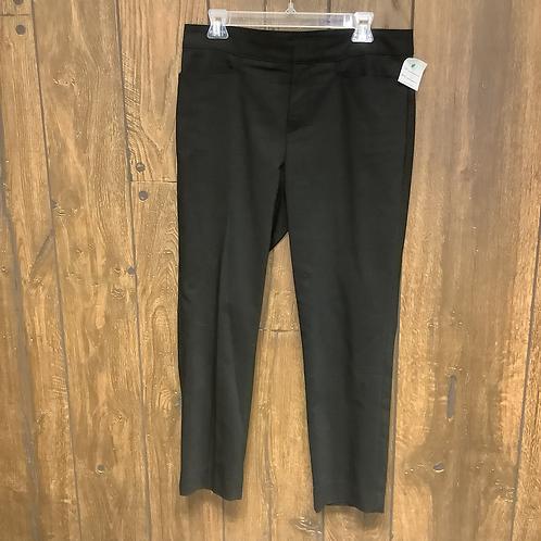 Chaps black dress pants size 10
