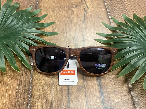 Sunglasses Wooden Style