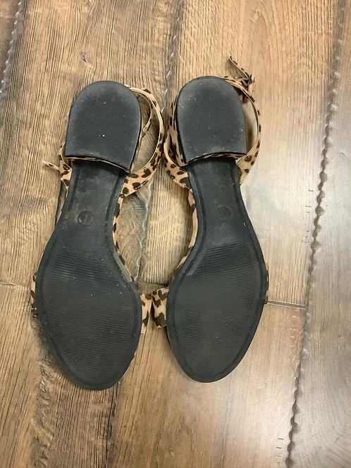 A new day cheetah sandals