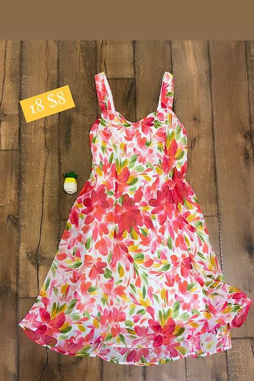 Size 18 Floral Dress