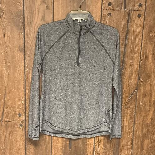 DSG grey quarter zip long sleeve size S