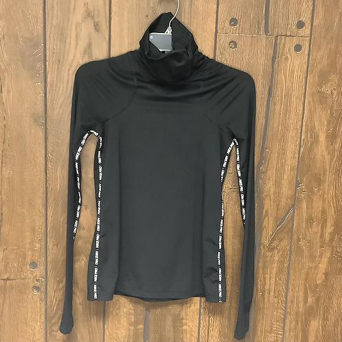 Nike pro black long sleeve size S