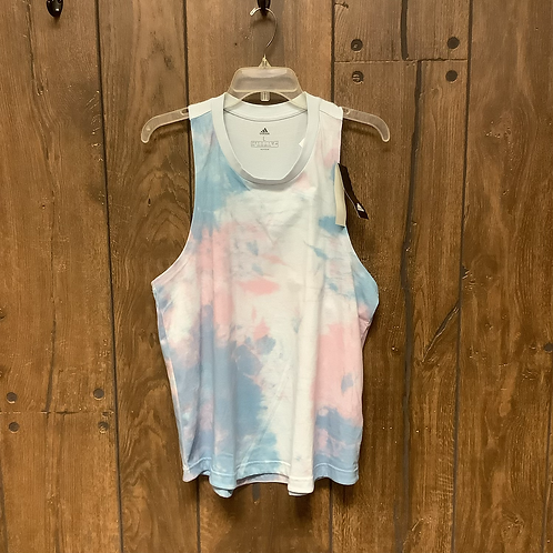 Large Adidas tie-dye tank new with tags
