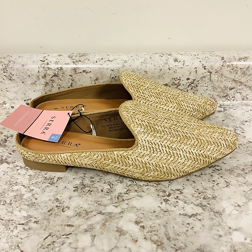 Size 8 Serra raffia mules nw with tags