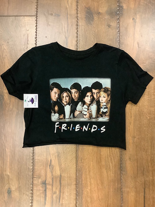Small Friends cropped tee
