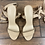 Thumbnail: Size 8 Nude Strappy Tie Heels