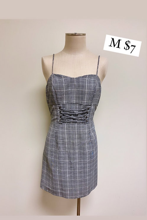 Size M Wild Fable Corset Waist Dress