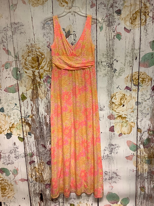 Small Lilly Pulitzer maxi dress pink