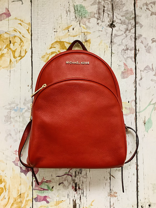 NWT Michael Kors red backpack