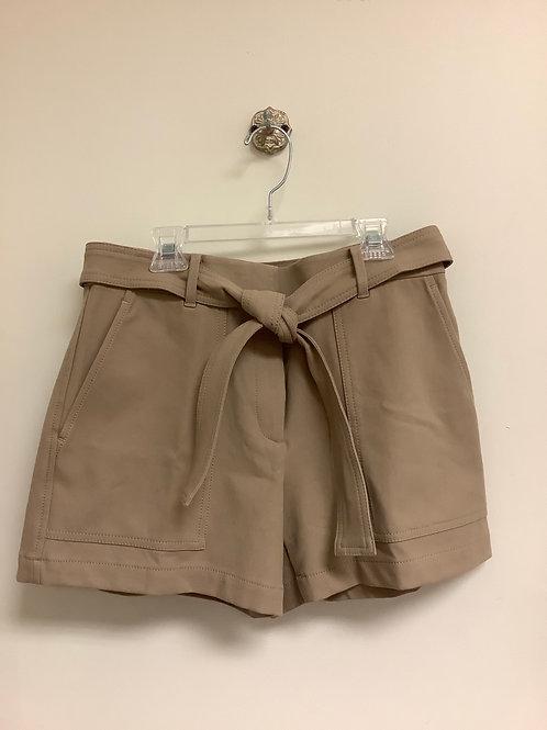 Size 4 Ann Taylor khaki shorts with tie