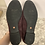 Thumbnail: Purple suede loafers size 10
