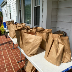 Bags of supplies