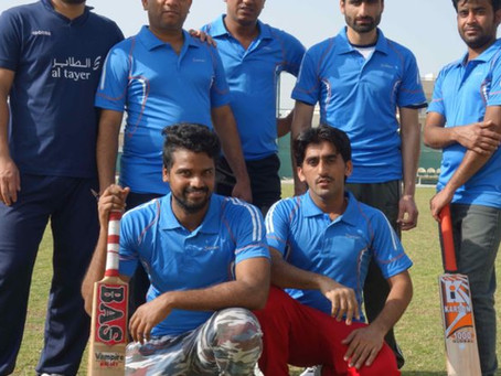 Blue's Cricket Team Competing in the Dulsco League