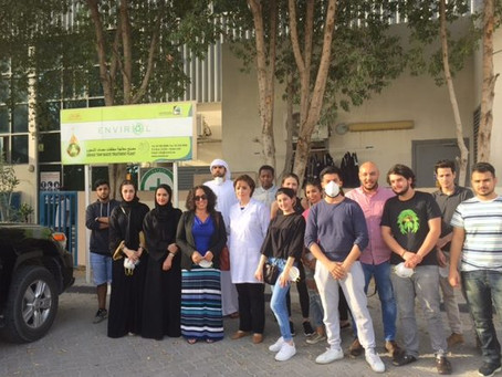 University of Dubai Students Visit Envirol