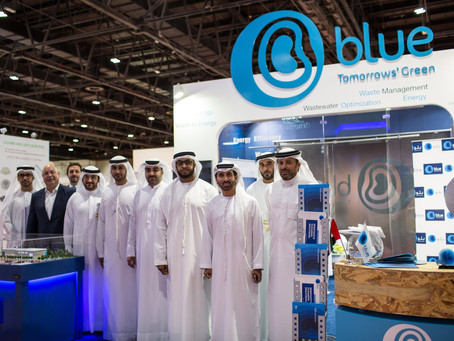 Blue, Alserkal's Environmental Group Participates at Wetex 2016