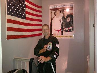 George Brazdzionis, Black Belt, Isshinryu Karate