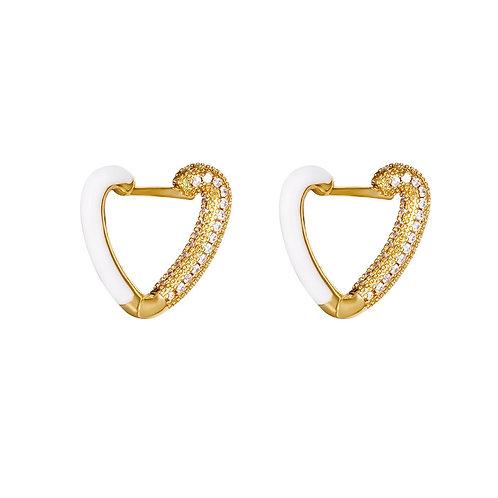 Earrings love me?
