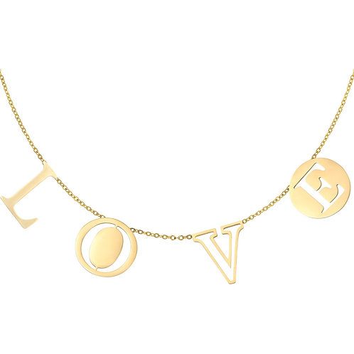 Ketting letters love