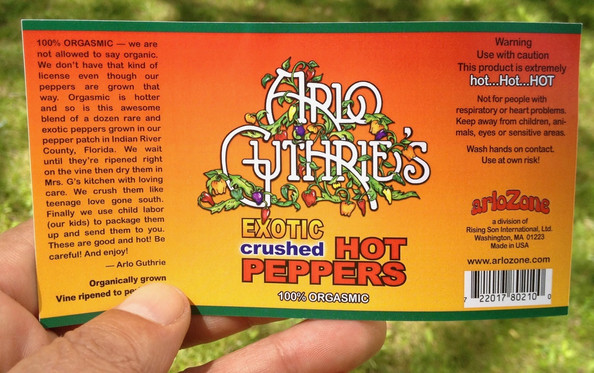 Pepper Label design