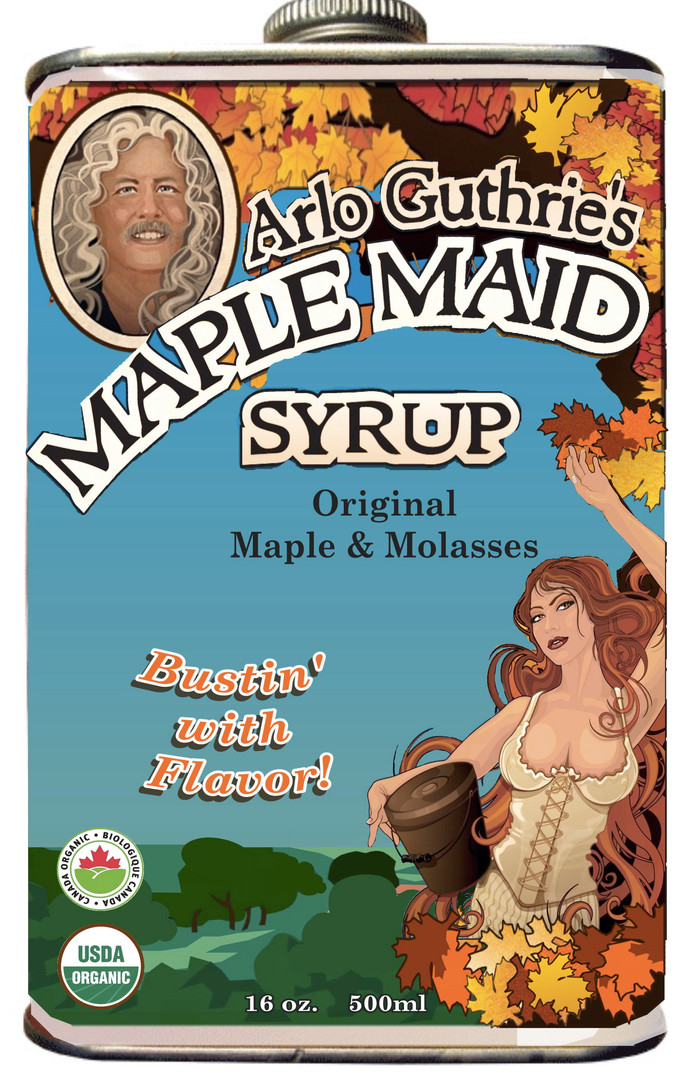 Maple Maid Syrup design