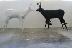 Bucks. Mix media Sculpture. 2014