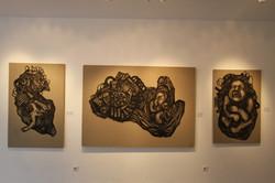 Installation Shot at Aun Gallery
