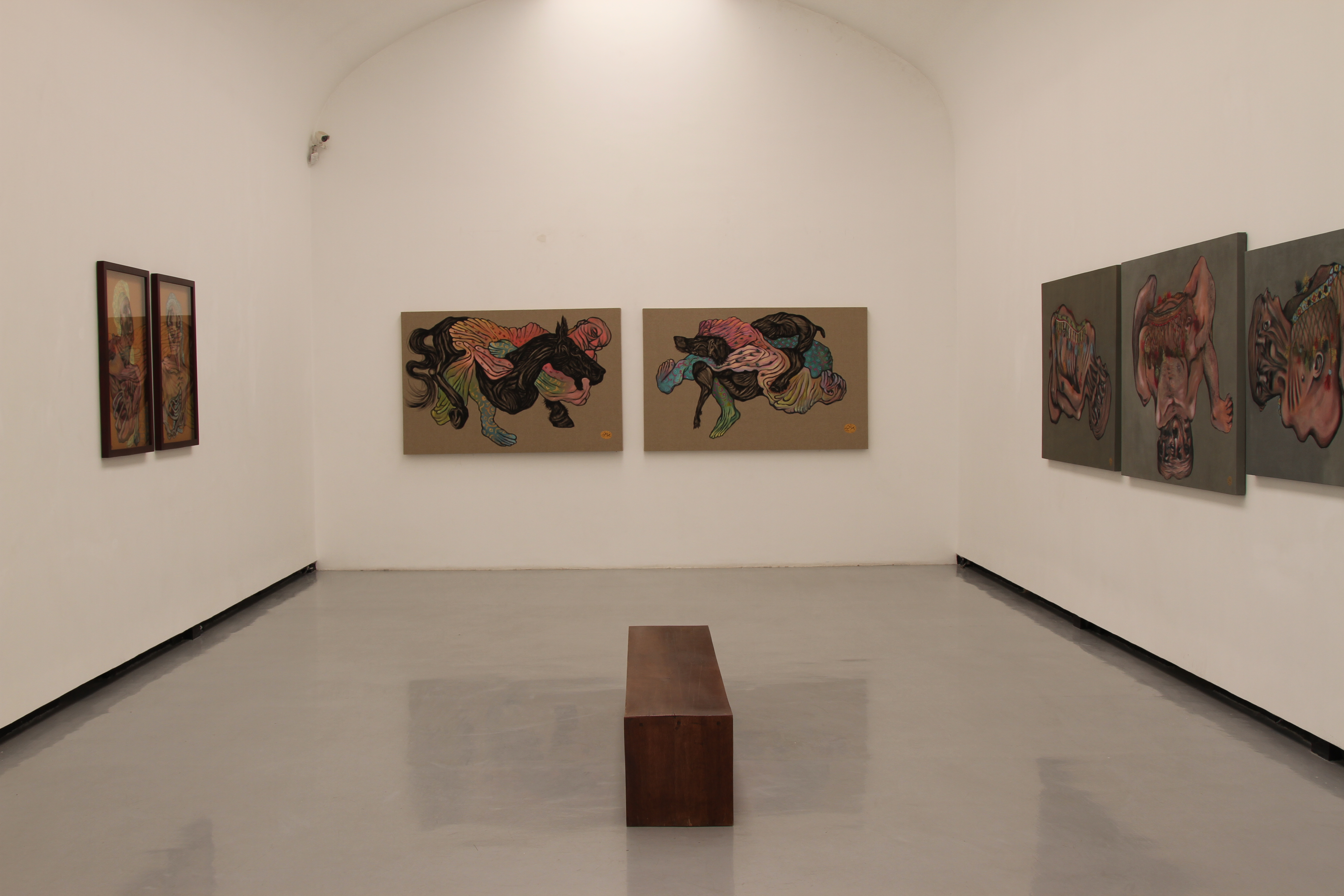 Installation Shot at Sun Gallery