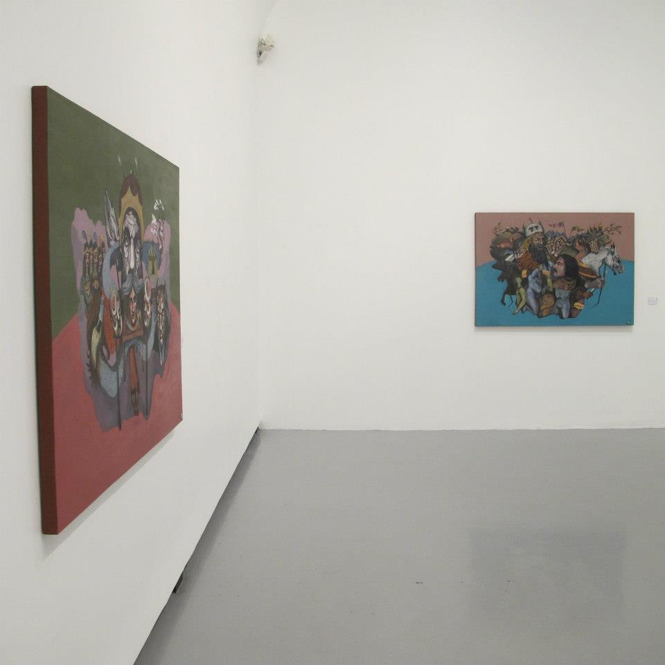 Installation Shot at Aun Gallery