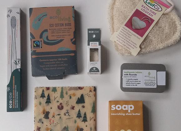 Vegan Eco Friendly Bathroom Gift Set