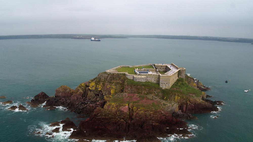 Filming Thorne Island
