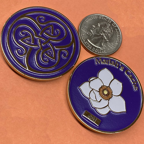 AGK Challenge Coin: Mariah's Cache, Limited Edition