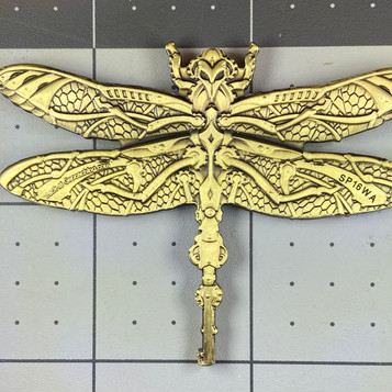 "AGK Geocoin: Danny Montoya, TX, Steampunk Dragonfly, ""Holly from the NorthEast 'Whatever' Cache"""