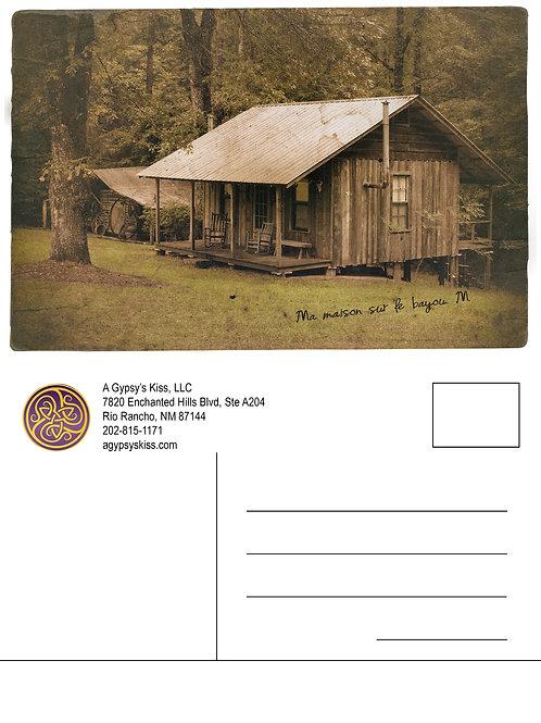 AGK Postcard: Mariah's Home on the Bayou