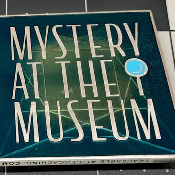 "AGK Geocoin: Nathan Moss, IL, Mystery at the Museum, ""Giant City Cache"""