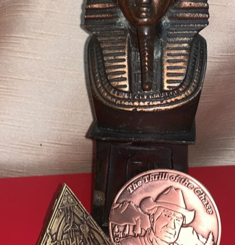 "AGK Geocoin, Jono Jones, Bolton, UK, Geocaching Trifecta, ""Tiger's Pyramid"""