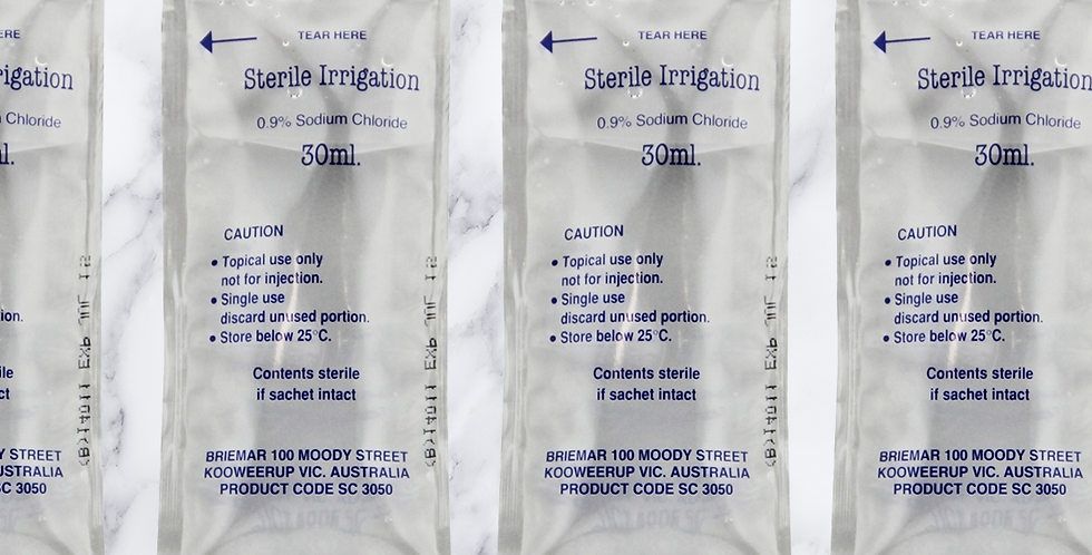Sterile Irrigation Water Sachet