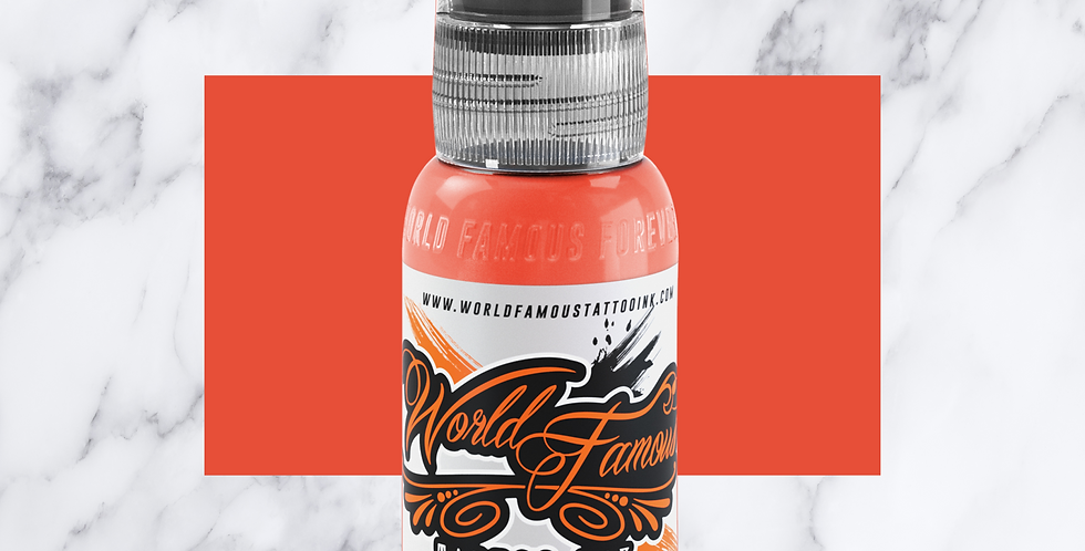 World Famous Tattoo Ink - Bora Bora Peach
