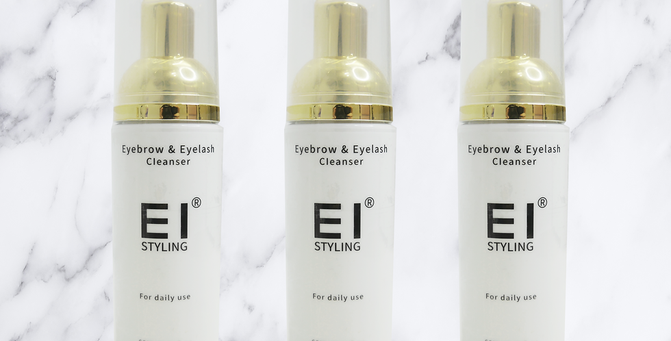 Eyebrow and Eyelash Cleanser