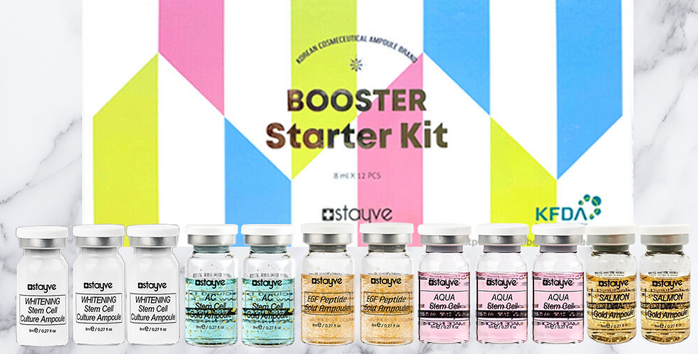 Stayve Booster Starter Kit - 12pk