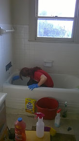 Cleaning Specialist Hard At Work