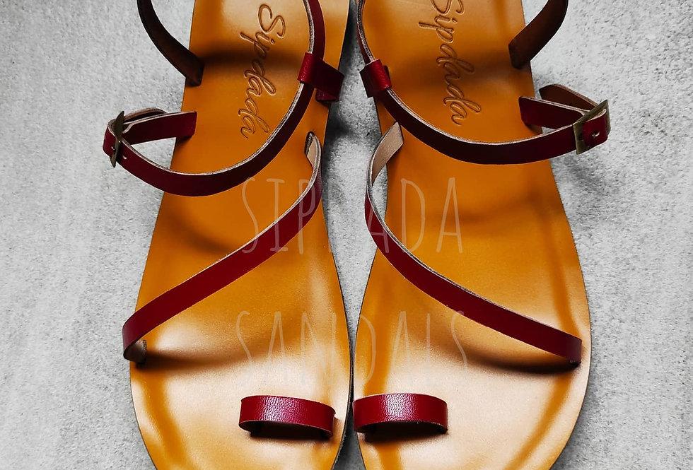 Kerigo sandals (red)
