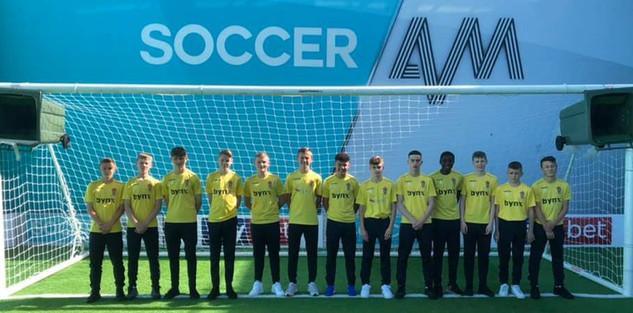 Soccer AM Team Photo