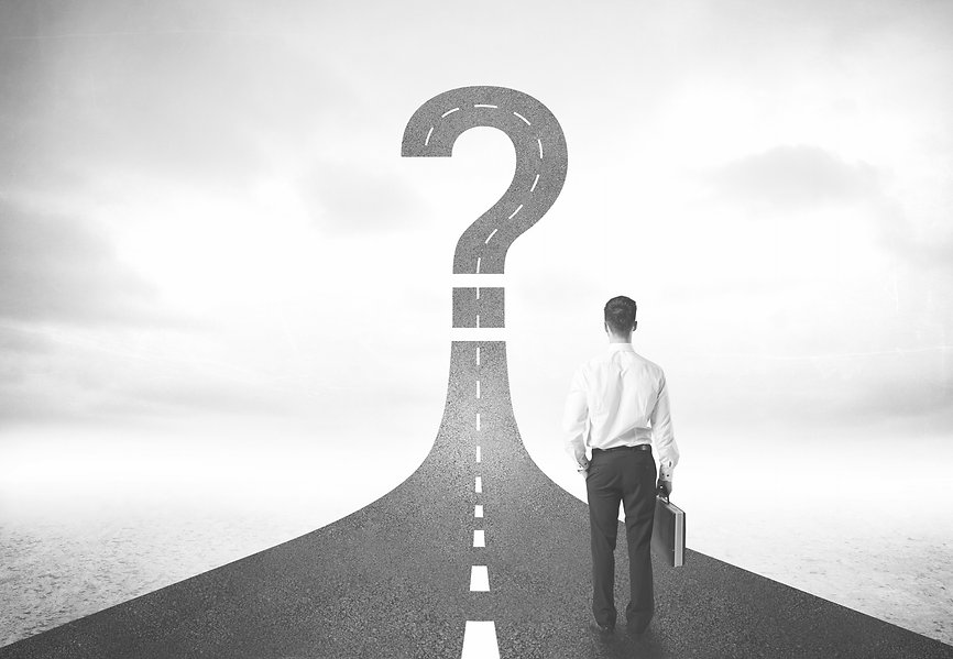 Question mark road